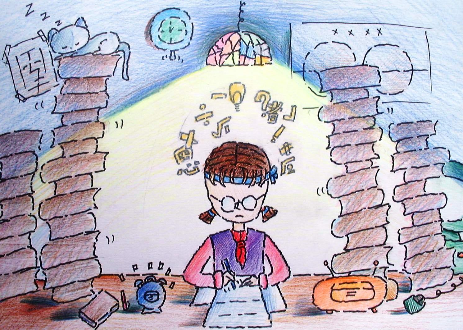 初中学生漫画作品